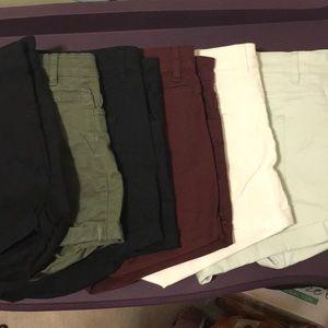 BUNDLE: 6 Pairs of H&M Shorts